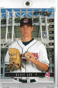 2003 Studio Proofs #30 Cliff Lee Cleveland Indians #67 of 100 Pack Fresh