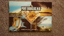 OLD AUSTRALIAN POSTCARD 1970s, PORT DOUGLAS QLD, 4 SCENES