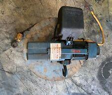 Pre Owned Demag Electric Chain Hoist Dkun 2 250 K V1f4 1100 Lbs