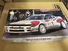 Hasegawa 1/24 Toyota Celica Gt Four Rally # Cr9  (decal damage ) cannot use