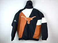 VTG Apex One Texas University Longhorns Men's Spell Out Puffer Jacket Sz M