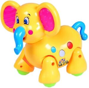 Christmas Walking Elephant Toy for Kids with Music&Lights Baby Toddlers