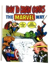 """How to Draw Comics the """"Marvel"""" Way, Paperback by Stan Lee John Buscema New"""
