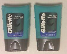 New 2 Pack Gillette Series Sensitive Skin After Shave Gel 2.5 Fl Oz
