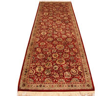 10 ft Red Traditional Lotus - Personal Growth Symbolic long kitchen runner