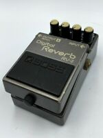 Boss RV-2 Digital Reverb '89 Vintage MIJ Guitar Effect Pedal Made in Japan