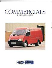 FORD TRANSIT VAN/BUS/CHASSIS CAB,FIESTA/ ESCORT VAN/P100 SALE BROCHURE JUNE 1990