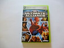 Xbox 360 Marvel Ultimate Alliance Video Game Activision 2006