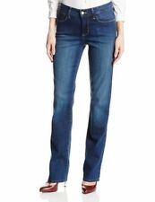 NYDJ Not Your Daughters Jeans Marilyn Straight Leg in Riverbank Wash - Size 6