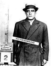 VITO DON VITO GENOVESE MUG SHOT NEW YORK PHOTO 8x10 B&W GLOSSY REPRINT