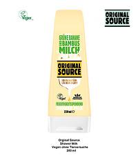 Orginal Source Shower Milk Grüne Banane+Bambus Vegan o. Tierversuch 250ml(328)´´