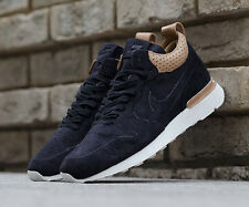 Nike Internationalist Mid Royal UK 7 EU 41 Nero RRP £ 190