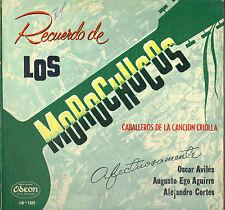 """LOS MOROCHUCOS """"CABALLEROS DE LA CANCION CRIOLLA"""" LATIN 60'S LP ODEON 1321"""