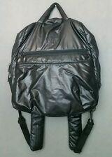 LASSIG Diaper Bag Backpack Black Changing Pad Zip Pockets Gender Neutral Unisex