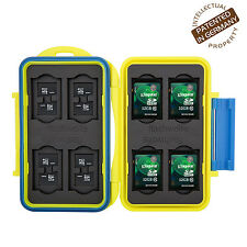 Turtle-SD8MSD16Y wasserdichte Schutzbox für 8 St. SDHC und 16 St. MicroSD Gelb