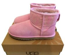 UGG Australia Classic Mini Lace (Lipgloss Pink) Boot Womens size 7 *NEW IN BOX*