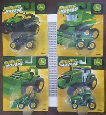 *BRAND NEW* John Deere (4) Mighty Movers Tractor, Combine, ATV, Frontend Loader