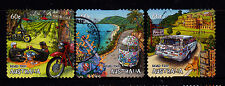 2012 Road Trip -  Set of Used Local Value Booklet Stamps