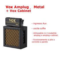 Vox Amplug Metal AP-MT e Cabinet Amplificatore Portatile