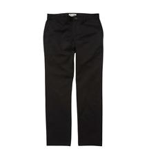Billabong Boy's Carter Stretch Twill Chinos Pants Black Size 29