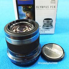 Olympus PEN M.Zuiko 45mm F1.8 Lens (Color Black) For Micro Four Thirds