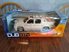 Jada Cadillac Escalade EXT DUB City 1:18 Scale Pearl White SUV Diecast Car 2003