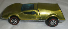Hot Wheels Redline Tribaby Collectors Quality condition lime yellow