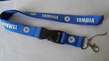 Portachiavi laccetto porta badge cellulare Yamaha R1 R6 TMAX YZF X-CITY FZ1 blu