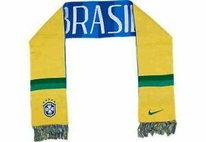 Nike Brazil Futbol Scarf 608867 703 NWT $30 Retail