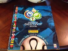 Panini Fifa World Cup 2006 99% Complete. No adidas Teamgeist No jabulani