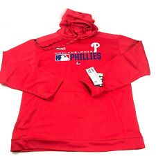 Philadelphia Phillies MLB Authentic Collection Hoodie Mens XLT Red Big Tall NWT