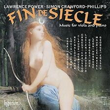 Fin De Si?le-Music For Viola And Piano/L.Power  (UK IMPORT)  CD NEW