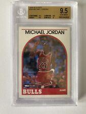 1989-90 Hoops #200 Michael Jordan BGS 9.5 (3) 9.5's ~ PSA 10 XOVER?