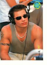 98 Degrees Nick Lachey Jeff Timmons teen magazine pinup clipping muscles