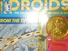 VTG~1977~1984~1985~Kenner~Star~Wars~Droids~KEZ~IBAN~COIN~ADV~C3PO~R2D2~tv~series