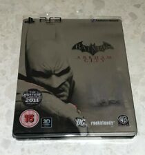 Batman Arkham City Limited Steelbook Edition Steel Book Sony PlayStation 3 PS3
