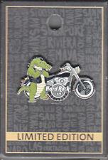 Hard Rock Cafe Pin: Orlando 2017 Gator Biker le300