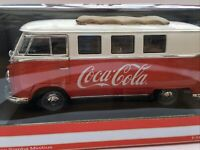 MOT 397471 VW SAMBA MINI BUS 1962 Coco Cola diecast model red white 1:18