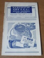 Manchester City v Newcastle United, 1946/47 - Division Two Match Programme.