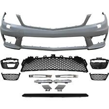 W204 C204 C Class Saloon Coupe C63 Style Front Bumper AMG 2011-2014 Facelift