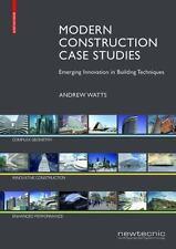 MODERN CONSTRUCTION CASE STUDIES - WATTS, ANDREW - NEW HARDCOVER BOOK