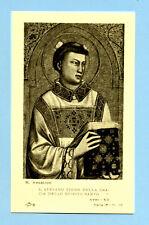 SANTINO ANTICO  SANTO STEFANO   IMAGE PIEUSE - HOLY CARD SANTINI