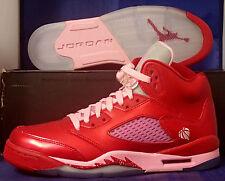 Nike Girls Air Jordan 5 V Retro Valentine's Day (GS) Youth SZ 7Y ( 440892-605 )