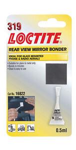 LOCTITE 319 Colle pour rétroviseur - VERRE & métal collé ,antenne etc