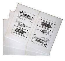 Labels 85x55 500 Shipping 85x55 Half Sheet Self Adhesive Vm Brand Labels