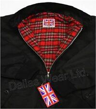 Retro Harrington Jacket Mod Skinhead SKA Black 3xl XXXL