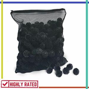 BIO BALLS FILTER Media Large for Pond Mesh Bag 1.5 Inch 300 Count AQUATIC EXPERT