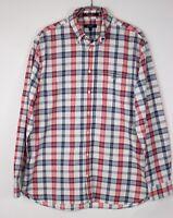 GANT Hommes Charte Oxford Coupe Standard Carreaux Chemise Décontractée Taille L