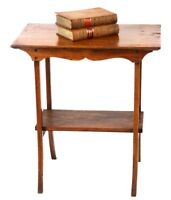 Antique French Cherry Wood Occasional Table - FREE Shipping [PL2031]