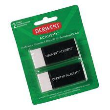 Derwent Academy Art Erasers, 2 Pack (98234)